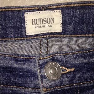 HUDSON studded pocket jeans size 28